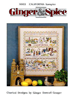 click here to view larger image of California Sampler (chart (special))