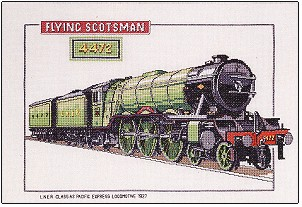 click here to view larger image of Flying Scotsman - Trains  - Chart only (chart)