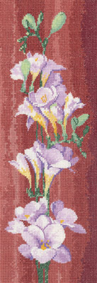 click here to view larger image of Freesia Panel  (chart)