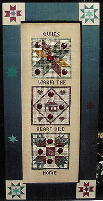 click here to view larger image of Buttoned Quilts (chart)