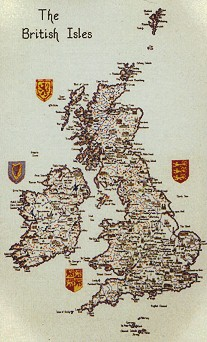 click here to view larger image of British Isles Map  (chart only) (chart)