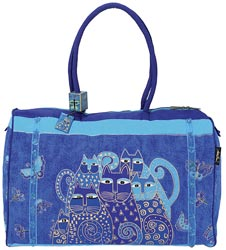 click here to view larger image of Indigo Cats Travel Bag (accessory)