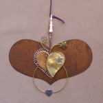 click here to view larger image of Heart With Heart Thread Separator - 4.25 inches (accessory)