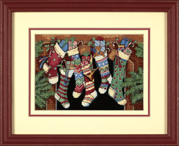 click here to view larger image of Stockings Were Hung, The (counted cross stitch kit)