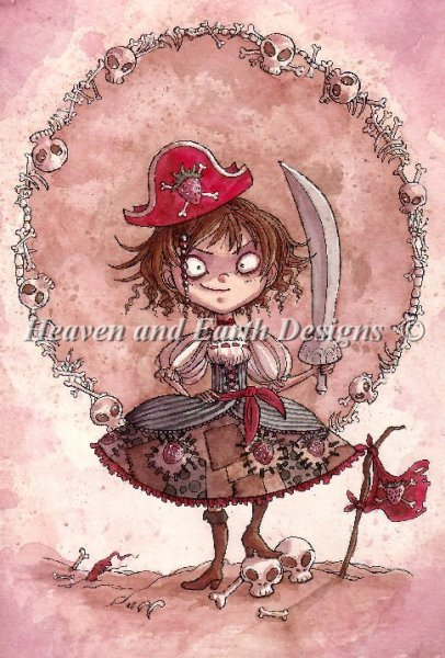 click here to view larger image of Strawberry Pirate Alicia (chart)