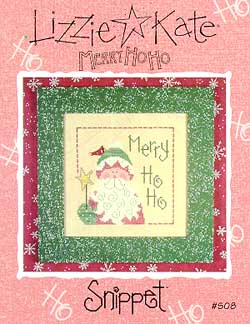 click here to view larger image of Merry Ho Ho (chart)
