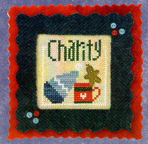 click here to view larger image of Flip-It Charity (12 Blessings w/charm) (chart)