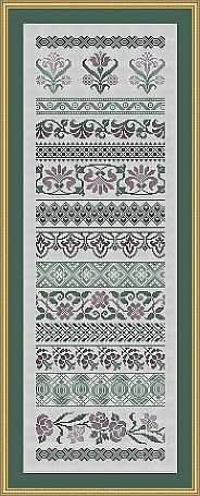click here to view larger image of Flower Sampler Alina (chart)