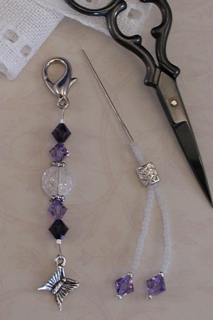 click here to view larger image of Mini Fob Set - Purple Iridescent (accessory)