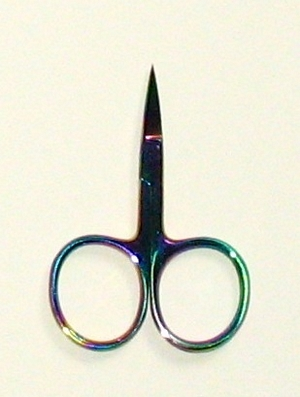 click here to view larger image of Tiny Titanium Coated Scissors 2.5in (accessory)