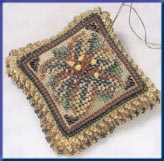 click here to view larger image of Beaded Pin Pillow - Starlight Lily (2003) (counted cross stitch kit)