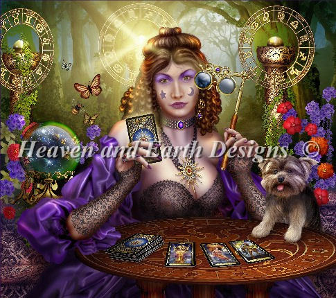 click here to view larger image of Reading The Guilded Tarot (chart)