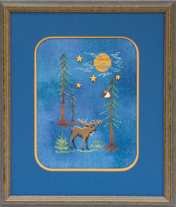 click here to view larger image of Moose By Moonlight (chart)