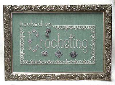 click here to view larger image of Hooked On Crocheting (with charms) (chart with charms/buttons)