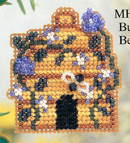 click here to view larger image of Bumble Bee Inn (counted cross stitch kit)