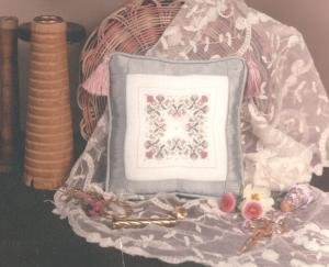 click here to view larger image of Elizabethan Needle Cushion  (counted cross stitch kit)