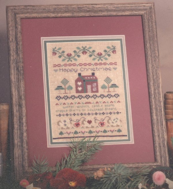 click here to view larger image of Winter Dreams (counted cross stitch kit)