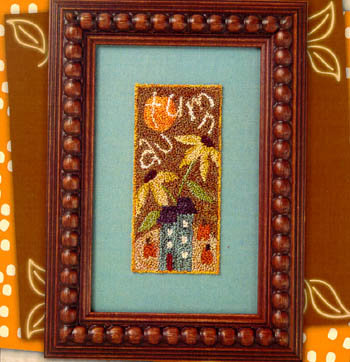 click here to view larger image of Autumn Cottage (Punchneedle w/printed fabric) (Punchneedle)
