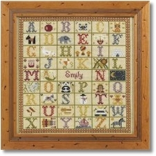 click here to view larger image of A to Z Sampler (CHART) (chart)