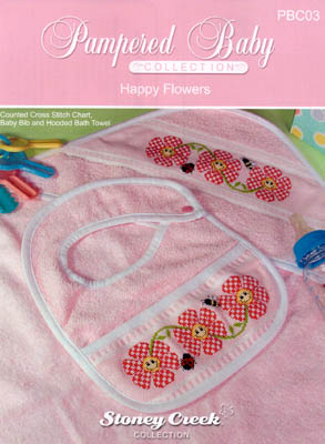 click here to view larger image of Happy Flowers - Pampered Baby Collection (chart)