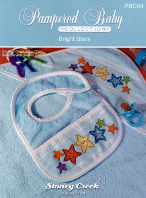 click here to view larger image of Bright Stars - Pampered Baby collection (chart)