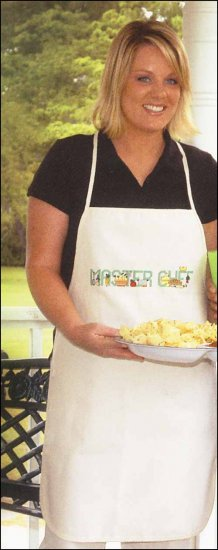 click here to view larger image of Apron - Adult Natural (stitchable)