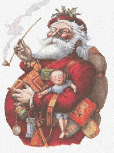 click here to view larger image of Merry Old Santa Claus  (chart)