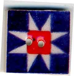 click here to view larger image of Patriotic Ohio Star (buttons)