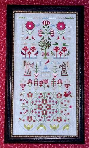 click here to view larger image of 1795 Angel Band Sampler (chart)