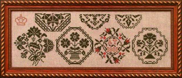 click here to view larger image of AY 1801 Motif Sampler (chart)
