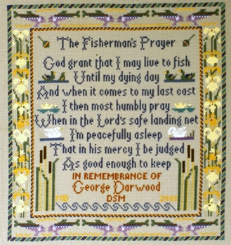 click here to view larger image of Fisherman's Prayer, The (chart)