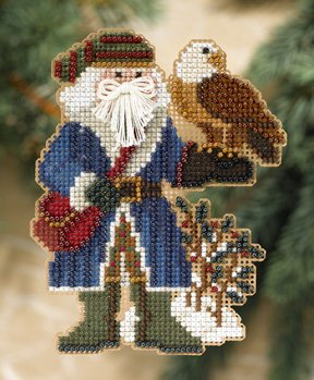 click here to view larger image of Pikes Peak Santa (2008) (counted cross stitch kit)