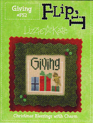 click here to view larger image of Flip-It Giving (12 Blessings series) (chart with charms/buttons)