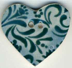 click here to view larger image of Teal Hearts Desire (buttons)