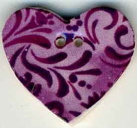 click here to view larger image of Plum Hearts Desire (buttons)