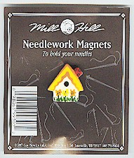 click here to view larger image of Sunflower Birdhouse (magnet)