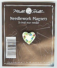click here to view larger image of Floral Heart (magnet)