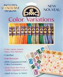 click here to view larger image of DMC Color Variations Floss Pack #3 (fibers)
