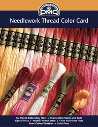 click here to view larger image of DMC Needlework Threads PRINTED Color Card  (accessory)