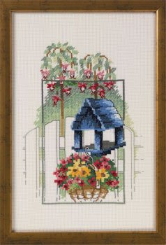 click here to view larger image of Birdhouse (counted cross stitch kit)