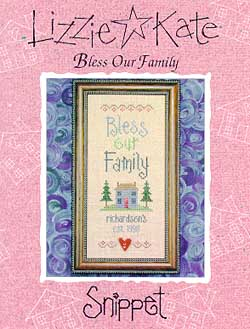 click here to view larger image of Bless Our Family - Snippet (chart)