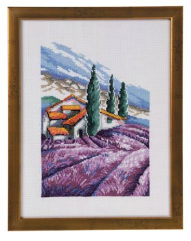 click here to view larger image of House In Toscana (counted cross stitch kit)