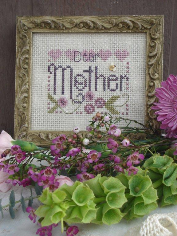 click here to view larger image of Dear Mother (counted cross stitch kit)