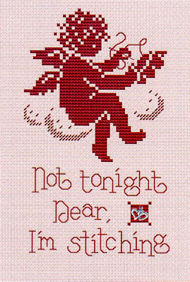 click here to view larger image of Not Tonight Dear ( w/charm) (chart)