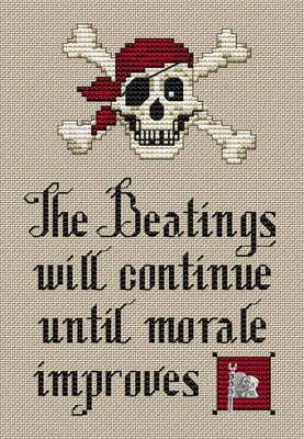 click here to view larger image of Pirate's Creed (chart)