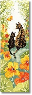 click here to view larger image of Follow Me 1 (counted cross stitch kit)
