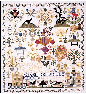click here to view larger image of Zeeland 1763 Sampler (chart)