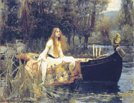 click here to view larger image of Lady of Shalott, The (chart)