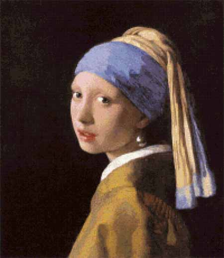 click here to view larger image of Girl with a Pearl Earring (chart)