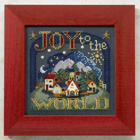 click here to view larger image of Joy To The World (counted cross stitch kit)